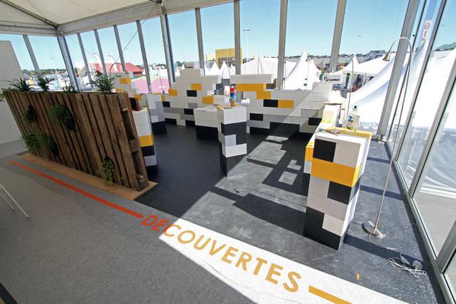 everblock partenaire du pavillon du futur. Black Bedroom Furniture Sets. Home Design Ideas